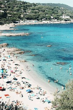 Most Beautiful beaches French Riviera Cote Dazur Cap Taillat