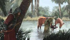 Ali Islam, Bibi Sakina, Water Supplier, Imam Hussain Karbala, Ibn Ali, Imam Hussain Wallpapers, Islamic Paintings, Muharram, Kid Character