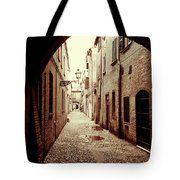 Via Delle Volte. Ferrara Tote Bag      #MarinausmanskayaFineArtPhotography, Art for home, Home design, Fine Art prints, Ferrara, Italy