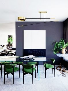 64 Contemporary Modern Dining Room Design Ideas to Makeover your - Contemporary Modern Kitchen, Small kitchen Design, Smart Kitchen Furniture Remodel, Diy - Designblaz Home Interior, Interior Architecture, Interior Decorating, Decorating Ideas, Deco Cool, Dining Room Inspiration, Dining Room Design, Dining Rooms, Dining Chairs