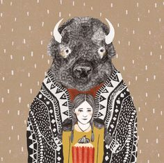 Postkaart_bizon32