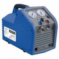 #Promax RG6000 Refrigerant Recovery Machine works with all CFC, HFC, HCFC refrigerants including R-410A, and withstand the rigors of daily use in extreme conditions.