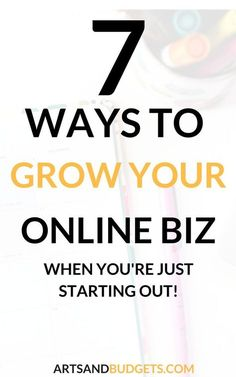 Looking to start your freelance biz! Check out this guest post on how to grow your freelance business in 7 easy steps. - Freelance, Freelance writing, How to grow a business, online business ideas, online business tips
