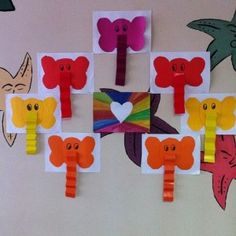 elephant craft idea for kids (2)                              …