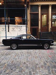 Black Mustang.