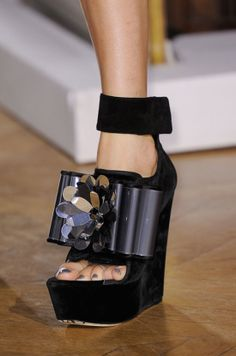 Saint Laurent, Chloé, and More — See All the Spring Runway Shoes From Paris