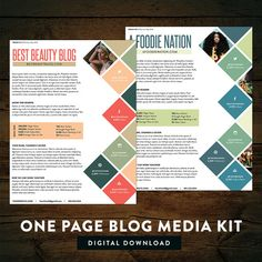 Whether youre new to blog sponsorships or a seasoned veteran, having a well polished and professional media kit will give you an advantage