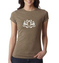 Yoga Shirt Lotus Flower shirt Yoga Top Yoga Tank by PrintFarmUSA
