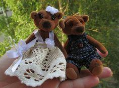 Instagram: @artschoolrizhik teddy bear wedding day
