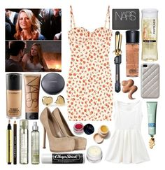sunnndayyyyy by holdontosixteen on Polyvore featuring Rosamosario, Yves Saint Laurent, MAC Cosmetics, NARS Cosmetics, Sephora Collection, Fekkai, Case-Mate, Marc by Marc Jacobs, Guide London and Chapstick