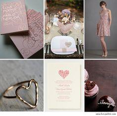 Blush, Crèam & Grey Valentine's Day