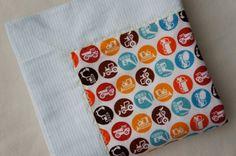 SALE  Baby Blanket  Baby Boy  Receiving Blanket  by YourLittleBean