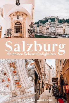 Salzburg Sehenswürdigkeiten: Der große City Guide für Salzburg! Was du bei deiner Salzburg Reise sehen musst, wo du die richtig guten Geheimtipps findest und wie du eine Menge Geld sparst! Tipps für tolle Cafés und Locations inklusive! Salzburg ist nicht umsonst eines der beliebtesten Reiseziele für Städtereisen in Österreich und Europa! #salzburg #österreich #reise #urlaub #städtereisen Europe Travel Tips, European Travel, Travel Around The World, Around The Worlds, Taj Mahal, Places Ive Been, Places To Go, Different Countries, Dreaming Of You