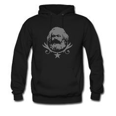 Karl Marx Hoody --- If there's ONE thing I could EVER have in my entire life, this would be it :) I'm going to make this for my own birthday present :D