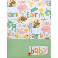 Barnyard Baby Record Book - Shop
