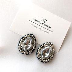 Boho Wedding, Wedding Jewelry, Diy Jewelry, Handmade Jewelry, Jewellery, Diy Earrings Dangle, Jewelry Patterns, Beaded Embroidery, Hair Clips