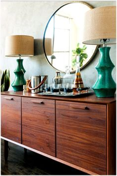 Making The Rounds - Round Mirrors for Your Home #MyManicuredLife