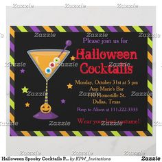 Halloween Spooky Cocktails Party