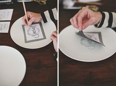 YouAreSpecialPlate-Tutorial for Porcelain Painting