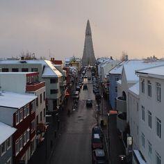 #hallgrímskirkja #skólavörðustígur #reykjavik #iceland #downtown #ikorninn #fromabove #glersýn #aronberndsen #berndsen #Padgram