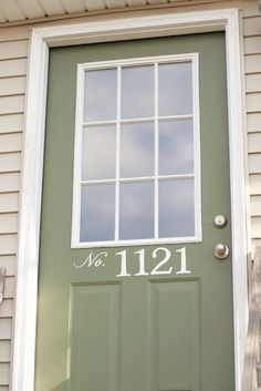my painted house numbers