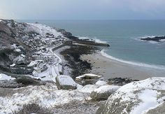 Winter in Sennen Cove, Cornwall, England