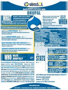 Drupal Website Design Infographic