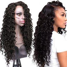 COLODO Synthetic Lace Front Wigs Curly Black Color L Part... https://www.amazon.com/dp/B01M7TZSH5/ref=cm_sw_r_pi_dp_x_RQzeyb7WS750B
