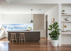 Doherty Design Studio's Ashburton Residence kitchen.  This project was completed by Doherty Lynch while Mardi Doherty was co‑director.