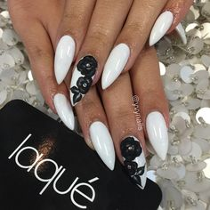 love the design...but don't care for the stiletto nail