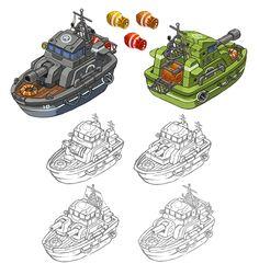 Game Concept, Character Concept, Concept Art, Character Design, Game Design, Design Art, Tank Drawing, Cartoon Styles, Pixel Art