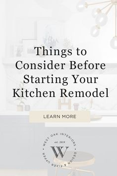 things to consider before starting your kitchen remodel / diy kitchen / renovation loans / kitchen remodeling / kitchen before and after / online interior design / 3d room design Diy Kitchen Remodel, Kitchen Remodeling, Interior Design Studio, Home Interior, How To Install Countertops, Old Cabinets, E Design, Home Renovation, Kitchen Design