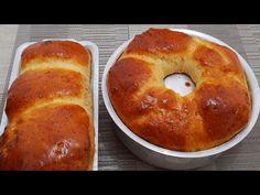 14 receitas de pão de liquidificador fácil que você vai tirar de letra | Receiteria Food Cakes, Bread Baking, Bagel, Doughnut, Cake Recipes, French Toast, Muffin, Food And Drink, Cooking