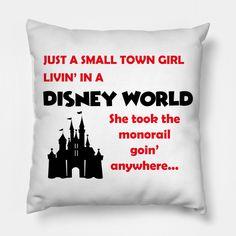 affbca1750d9 Shop Just a Disney Girl T-Shirt walt disney world pillows designed by  chipandco as well as other walt disney world merchandise at TeePublic.