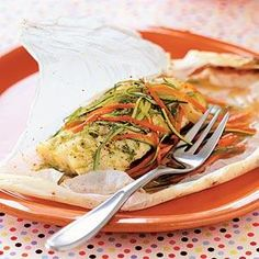 Parchment-baked Chicken with Arugula, Sage, and Rosemary Recipe | MyRecipes.com