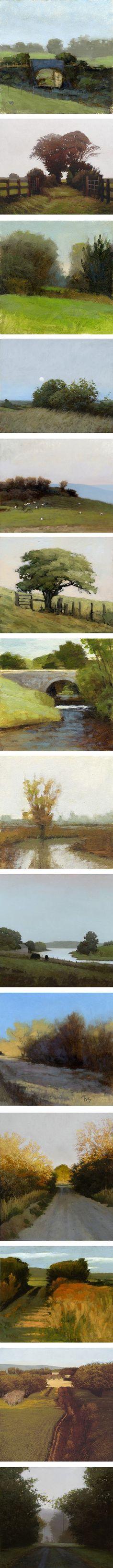 Marc Bohne is a landscape painter, landscape paintings