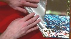 LG Display gives a first look at its flexible display that can be rolled up and carried away - a potential breakthrough in TV tech.