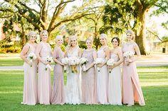 Lauren & Corey's Lowndes Grove Plantation wedding in Charleston, South Carolina   Spring wedding inspiration   Real wedding featured on The Wedding Row   Photo by Emily Baucom