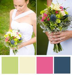 Monaco Blue Palette - Wedding Color Palettes of 2013 » Kate Ignatowski Wedding and Portrait Photographer Blog