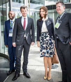 "On May 16, 2016, Crown Princess Mary of Denmark attend opening of ""Women Deliver Conference 2016"" at Bella Center in Copenhagen, Denmark. Crown Prince Frederik, Princess Benedikte of Denmark, Crown Princess Mette-Marit of Norway and Dutch Princess Mabel attended this event."