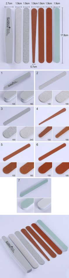 $0.89 1Pc Double-sided Sponge Nail File Polishing Sanding Buffing Grinding Manicure Nail Art Tool - BornPrettyStore.com