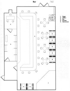 Bar; shadowrun, floorplan