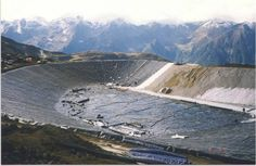 AGRU HDPE liner (2.0mm) - water reservoir for ski resort in Hochzeiger, Austria. AGRU Geomembrane Applications and Specifications