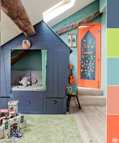 cute kid's bedroom #decor #infantil #casa