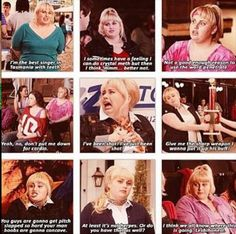 I love fat Amy. Also I literally watched this 3 days ago