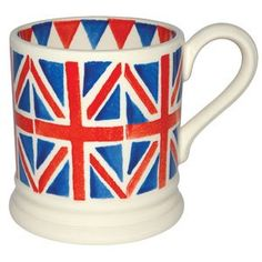 Union Jack 1/2 Pint Mug |Pinned from PinTo for iPad|