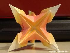 Lyra's Origami: May 2009  Ornamental Origami