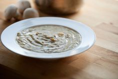 Vegan and Grain-free Cream of Mushroom Soup