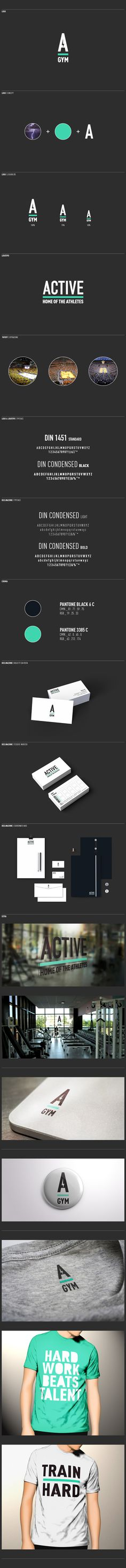 Active Gym by Ivan Moreale, via Behance