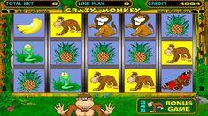 ОБЕЗЬЯНКИ СОШЛИ С УМА! Бонус игры по 810 в Crazy Monkey slot!